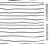 line hand drawn seamless pattern | Shutterstock .eps vector #1135308488