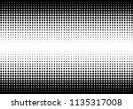gradient dots background. fade... | Shutterstock .eps vector #1135317008