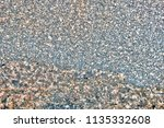 multicolored natural stone... | Shutterstock . vector #1135332608