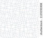 black and white vector endless... | Shutterstock .eps vector #1135350308