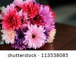 Flower Bouquet Of Gerber