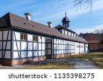 city oranienbaum with castle... | Shutterstock . vector #1135398275