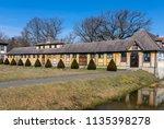 city oranienbaum with castle... | Shutterstock . vector #1135398278