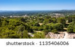 view of saint remy from the... | Shutterstock . vector #1135406006