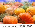 Autumn Mabon Background With...