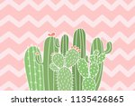 Cute Cactus Illustration...
