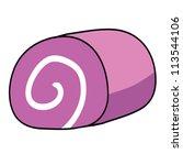 cartoon cake   Shutterstock .eps vector #113544106