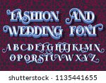 save the date  fashion and... | Shutterstock .eps vector #1135441655