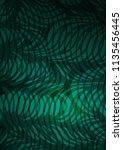 light green abstract doodle...   Shutterstock . vector #1135456445