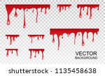 vector dripping paint.paint... | Shutterstock .eps vector #1135458638