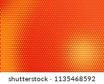 red and yellow radial halftone... | Shutterstock .eps vector #1135468592