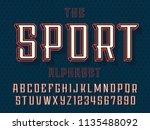 modern professional vector 3d... | Shutterstock .eps vector #1135488092