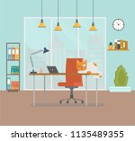 flat design vector illustration ... | Shutterstock .eps vector #1135489355