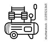 air compressor icon | Shutterstock .eps vector #1135521365