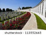 Tyne Cot Cemetery In Ypres ...
