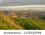 peaceful landscape scene with... | Shutterstock . vector #1135533596