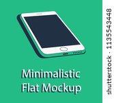minimalistic 3d isometric flat...