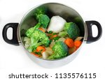 cooking   aluminum  pan with...