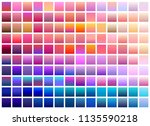 purple trendy set ultraviolet... | Shutterstock .eps vector #1135590218