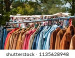 vintage clothing   retro... | Shutterstock . vector #1135628948