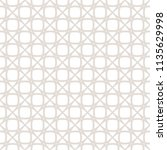 subtle seamless pattern. vector ... | Shutterstock .eps vector #1135629998