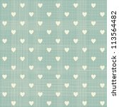 Seamless Hearts Polka Dot...