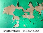 texture of an old shabby wall ...   Shutterstock . vector #1135645655