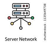 database systems are designed... | Shutterstock .eps vector #1135649738