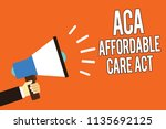 writing note showing aca... | Shutterstock . vector #1135692125