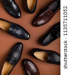 male shoes collection. men's... | Shutterstock . vector #1135711052