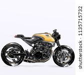 motorcycle sketch illustration   Shutterstock . vector #1135715732