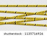 vector set of realistic... | Shutterstock .eps vector #1135716926