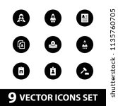 occupation icon. collection of... | Shutterstock .eps vector #1135760705