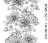 abstract elegance seamless... | Shutterstock . vector #1135773608