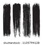 set of grunge brush strokes... | Shutterstock .eps vector #1135794128