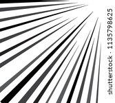 comic speed lines background | Shutterstock .eps vector #1135798625