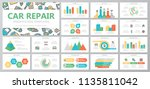 set of car service and auto... | Shutterstock .eps vector #1135811042
