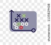tactics vector icon on... | Shutterstock .eps vector #1135829438