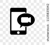 smartphone vector icon on...