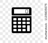 calculator vector icon on...