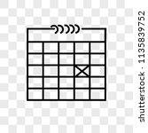 calendar vector icon on...