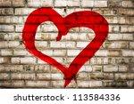 Heart Shape Love Symbol Painte...