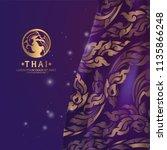 thai art vector | Shutterstock .eps vector #1135866248