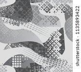 abstract seamless grunge urban...   Shutterstock .eps vector #1135893422