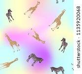 seamless pattern  background ... | Shutterstock .eps vector #1135920068