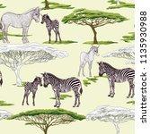 seamless pattern  background ... | Shutterstock .eps vector #1135930988