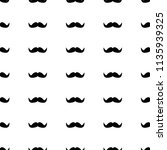 seamless pattern with black... | Shutterstock .eps vector #1135939325