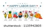 happy labor day concept... | Shutterstock .eps vector #1135942805