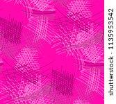 various pencil hatches.... | Shutterstock .eps vector #1135953542