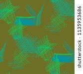 various pencil hatches.... | Shutterstock .eps vector #1135953686